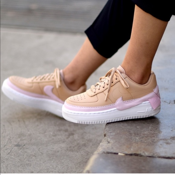 NWT Nike Air Force 1 Jester XX Beige Pink White W NWT